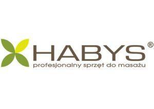Logo firmy Habys producenta sprzętu do masażu