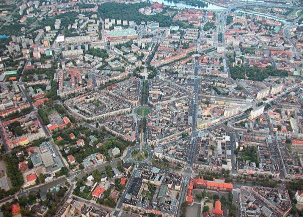 Miasto Szczecin, masaż
